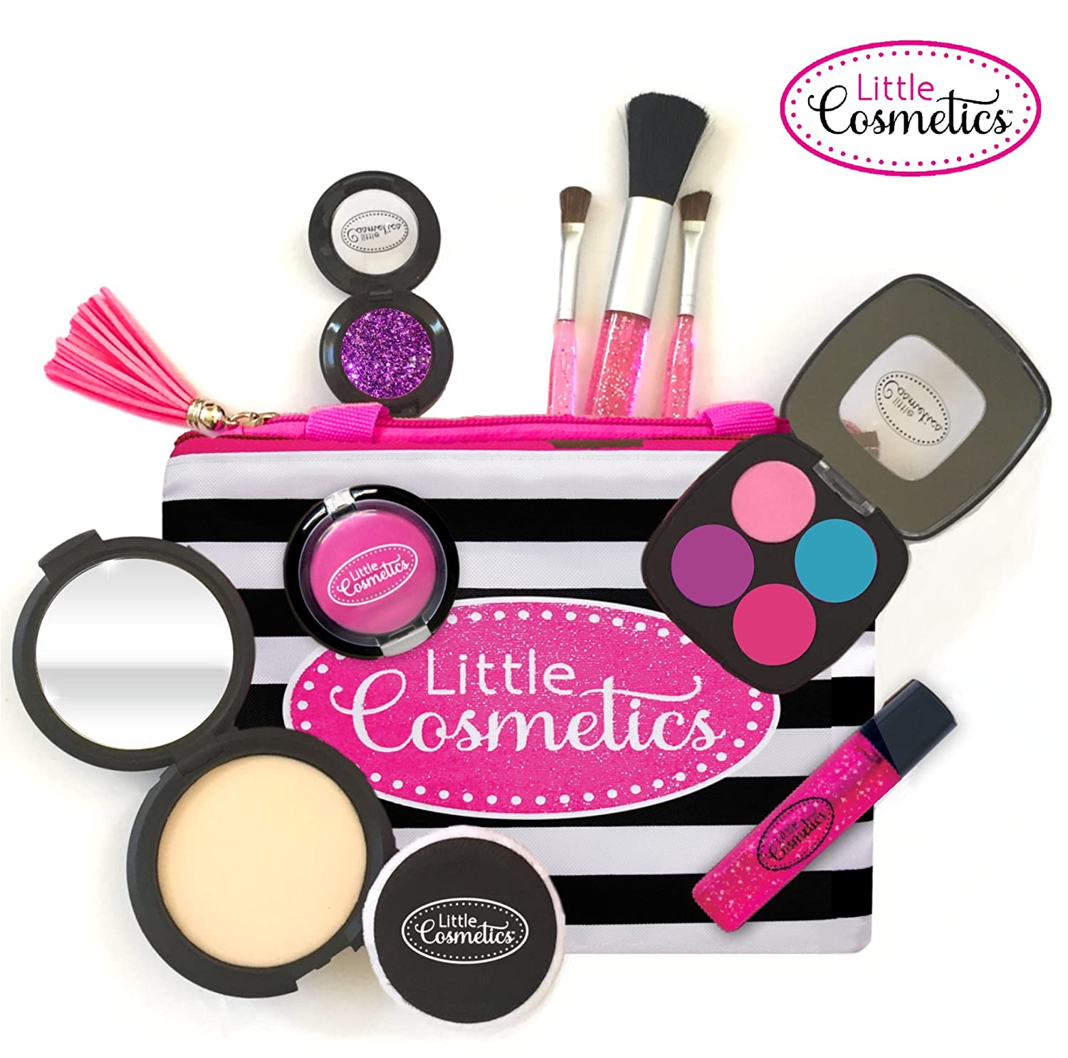 27f02272ff6 Amazon.com: Little Cosmetics Pretend Makeup Signature Set: Toys & Games