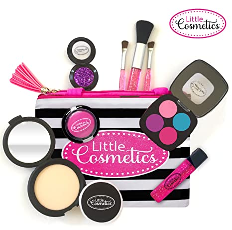 7894c08683934a Amazon.com: Little Cosmetics Pretend Makeup Signature Set: Toys & Games