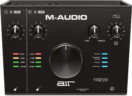 M-Audio Air 192|6-2 In 2 Out e 2 Mic Intefaccia Audio USB-C per Mac Windows