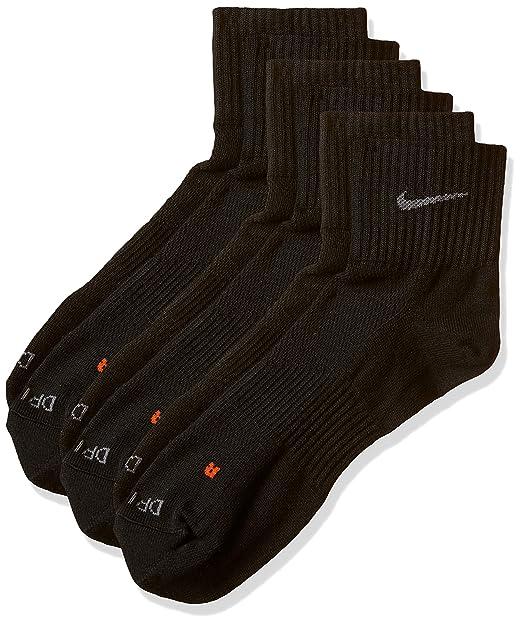 Nike Adult Socks Dri Fit Lightweight Quarter 3 Pack