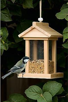 Futterhaus Vogelfutterhaus Futterhäuser zum hängen Futterspender Vogelhaus Vogel