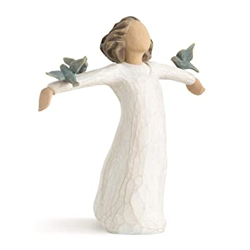 Willow Tree Happiness Figurine Suzan Lordi Amazoncouk Kitchen Home