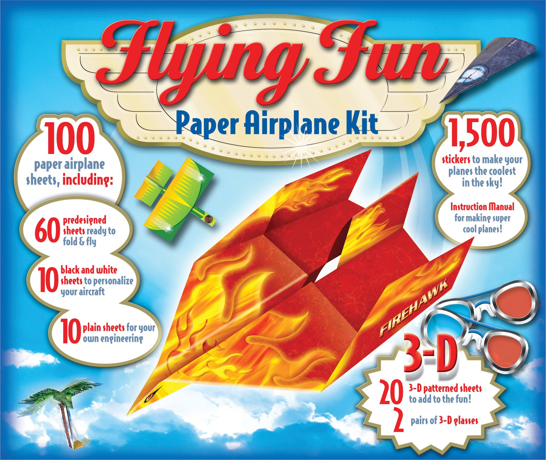 flying fun paper airplane kit editors of publications international