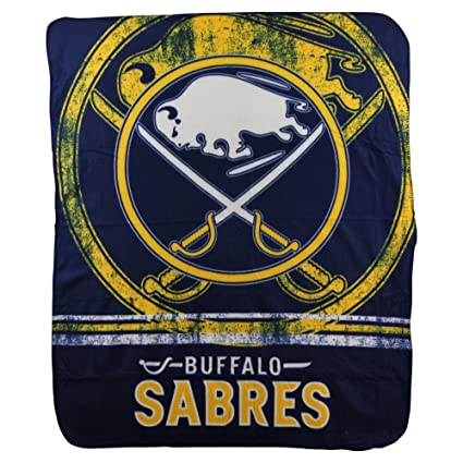 The Northwest Company Officially Licensed NHL Buffalo Sabres Fade Away  Fleece Throw Blanket c5d773645