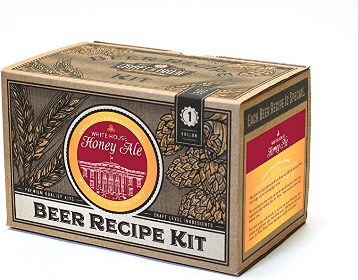 Craft A Brew White House Honey Ale Beer Recipe Kit