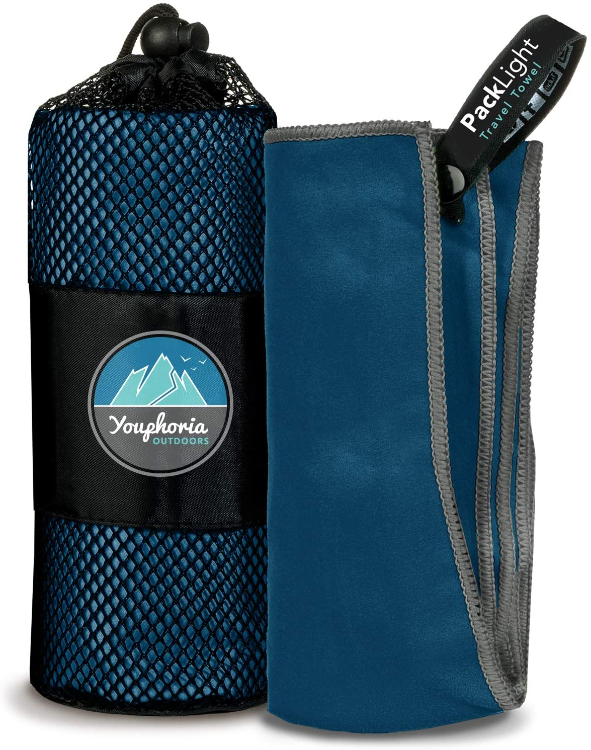 Youphoria Outdoors Microfiber Camping Towel Fast Drying Lightweight