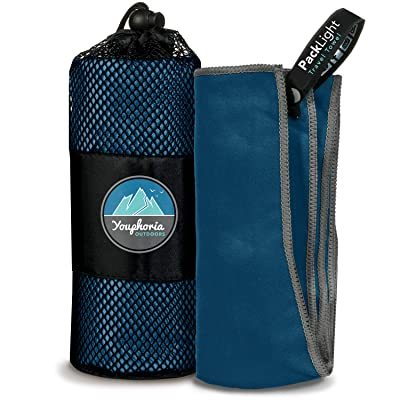 Youphoria Outdoors Microfiber Travel Towel Ideal Fast Drying Towels