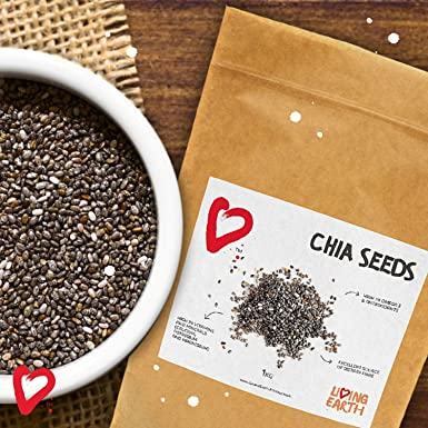 1KG - LIVING EARTH SEMILLAS DE CHIA: Amazon.es: Alimentación ...
