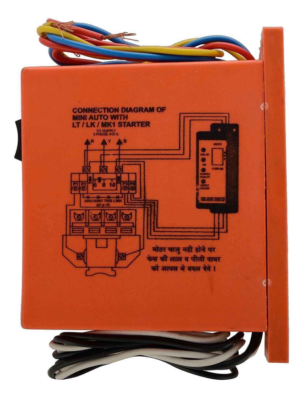 Sky Let Plastic Mini Autoswitch Orange Amazon In Industrial