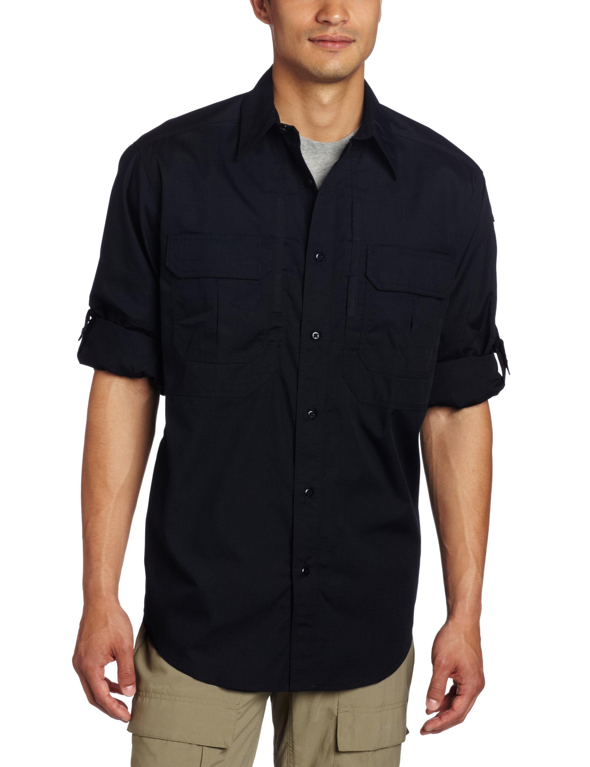 5.11 Tactical TacLite Professional Long Sleeve Shirt, Dark Navy, Medium