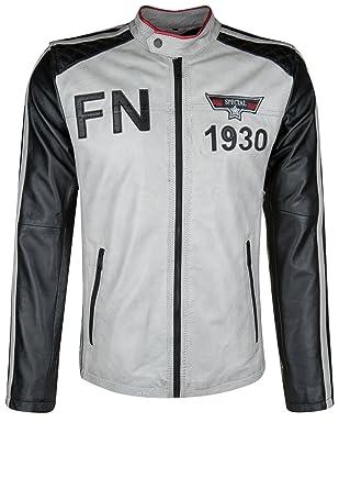 e12e80b2a Freaky Nation Men's Plain Long Sleeve Jacket - Grey - M: Amazon.co ...