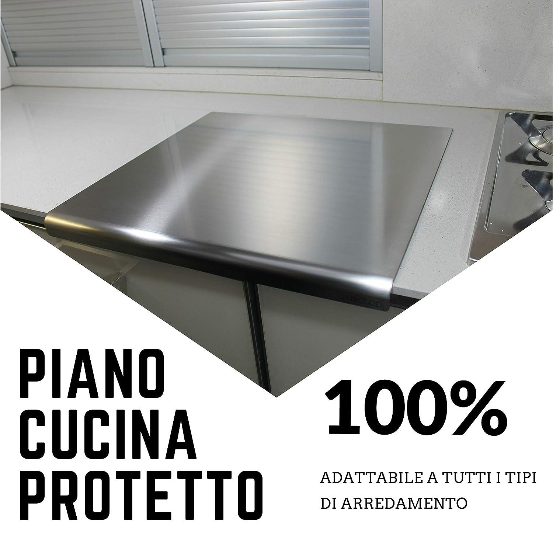 Oneclod Piano Lavoro Acciaio Inox Variazione Con Angolo Curvo Con