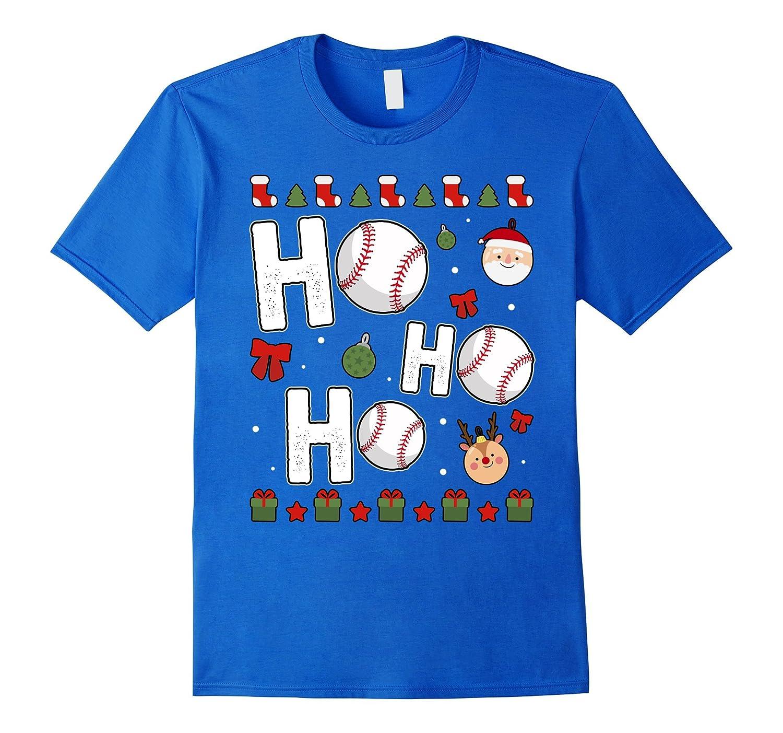 funny ho ho ho baseball christmas t shirt anz - Baseball Christmas
