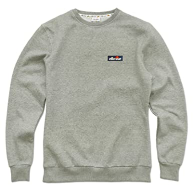 d233ea637c ellesse Mens Serve Long Sleeve Crew Neck Sweatshirt Jumper Top