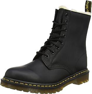 Dr Martens Leonore Dark Brown, Schuhe, Stiefel & Boots, Stiefel, Braun, Female, 36