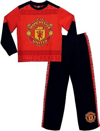 Manchester United - Pijama para Niños: Amazon.es: Ropa y accesorios
