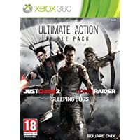 Ultimate Action Triple Pack - Just Cause 2/Sleeping Dogs/Tomb Raider (Xbox 360) by Square Enix