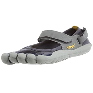 super popular 4f1e8 634be Amazon.com   Vibram Mens FiveFingers Sprint, Black Grey, 43 D   Running