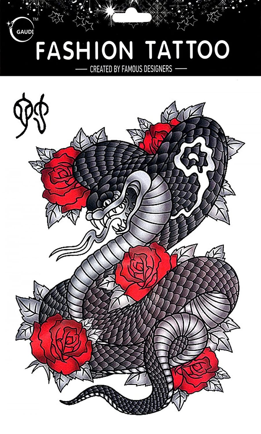 Temporary tattoos for different Zodiac 12 Chinese Zodiac Signs Snake temporary tattoos