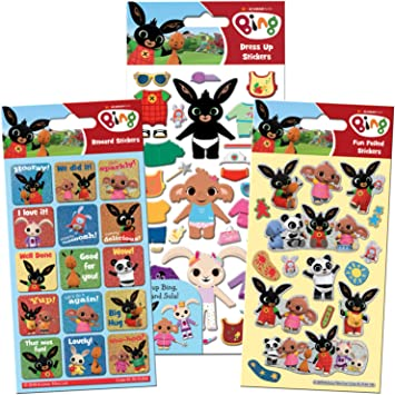 Paper Projects 01.70.24.045 Bing Super Sticker Pack: Amazon.es: Juguetes y juegos