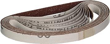 10-Piece Astro   100-Grit 3//8-Inch x 13-Inch Sanding Belt