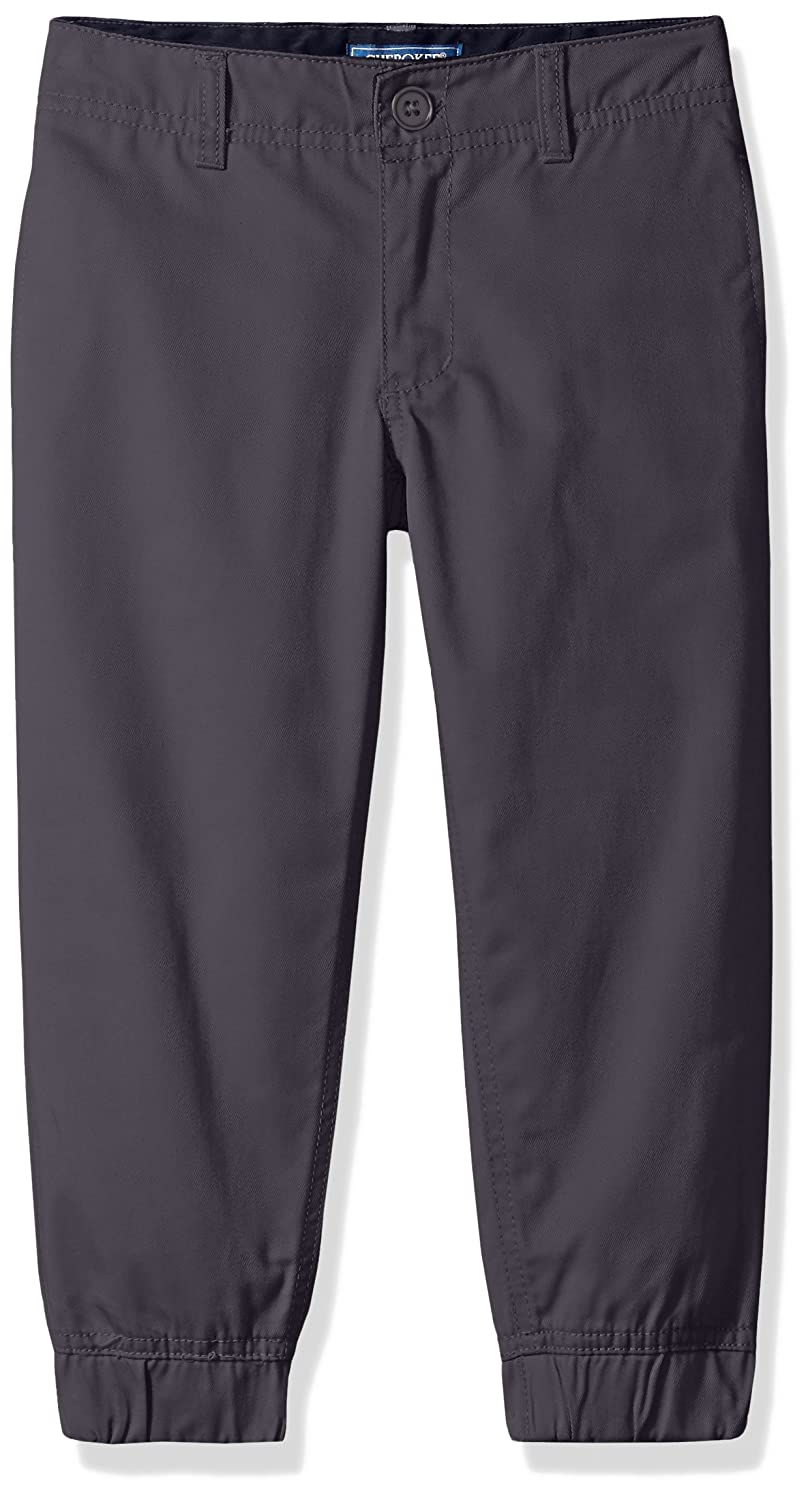 Cherokee Boys' Uniform Twill Jogger Pant Adjustable Waist CHEROKEE girls