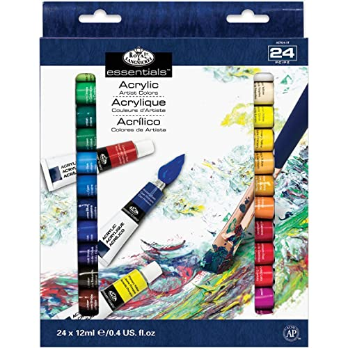 Royal & Langnickel Artist Paint 24 x 12ml Set - Acrylic
