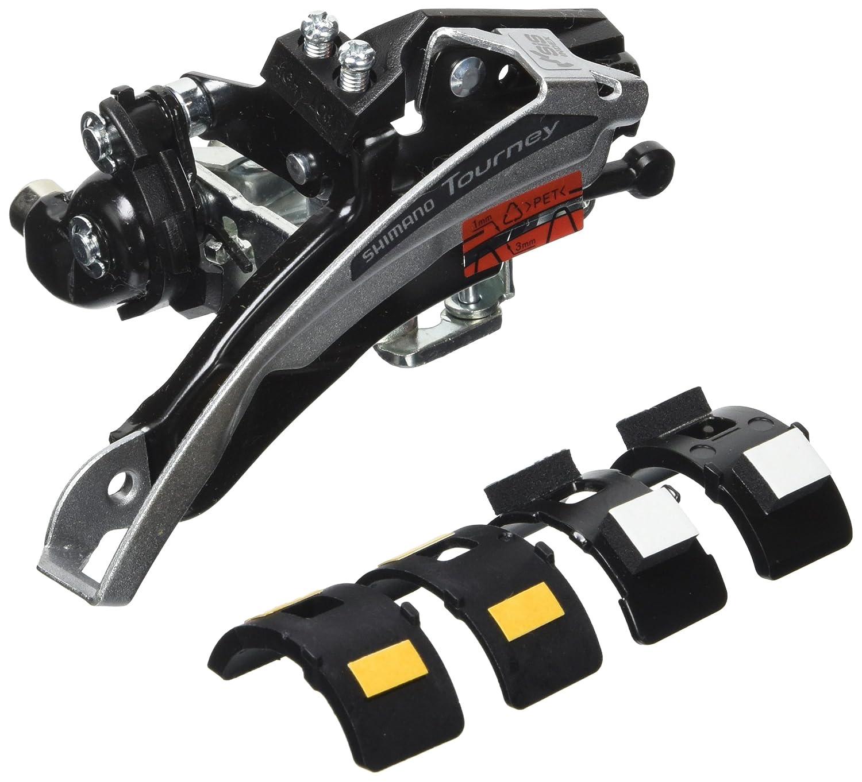 Shimano FDTX51 - Desviador Delantero (7 velocidades), Color Negro y Plateado FD-TX51