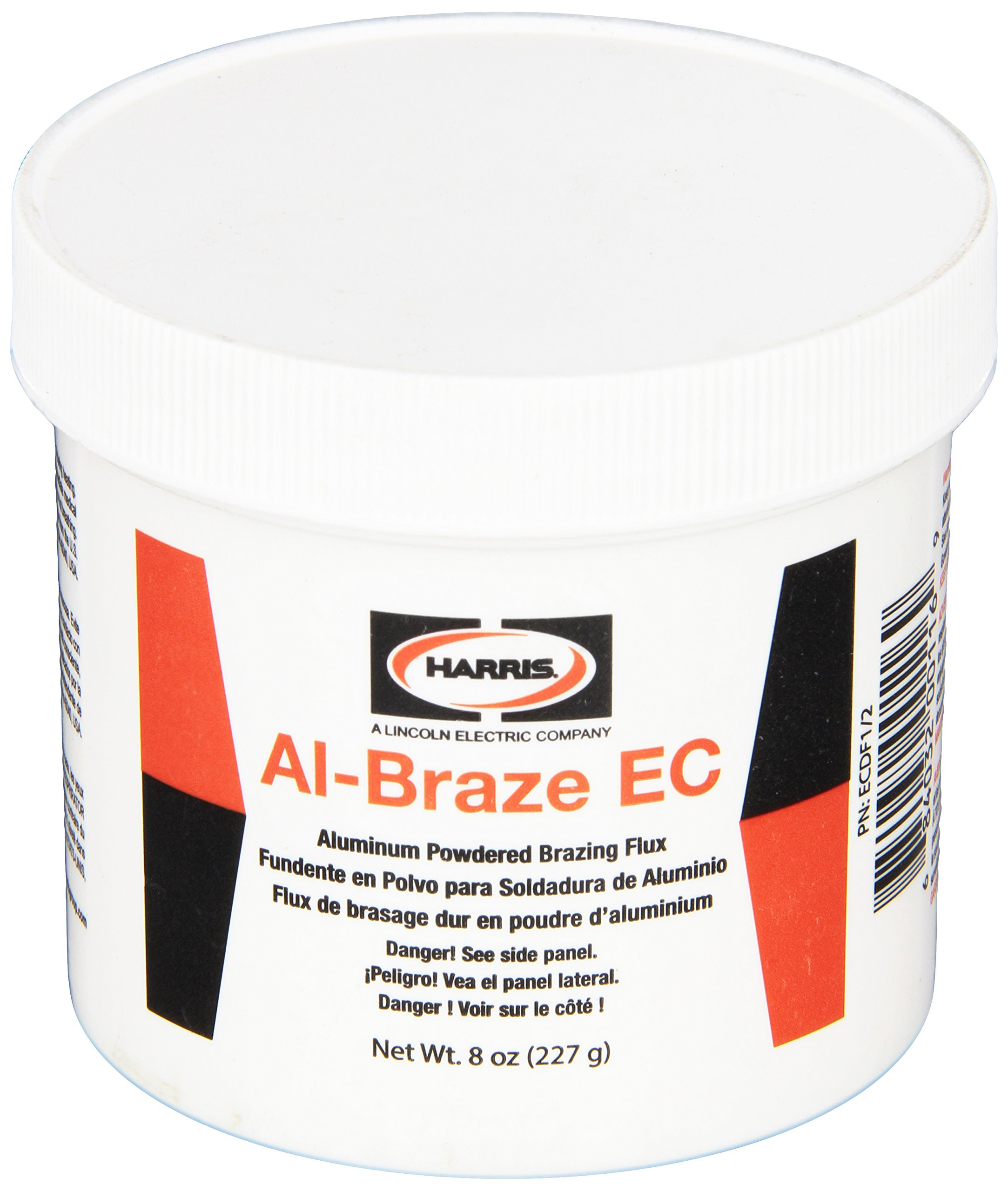 Harris ECDF1/2 Al-Braze EC Powder Flux,1/2 lb. Jar