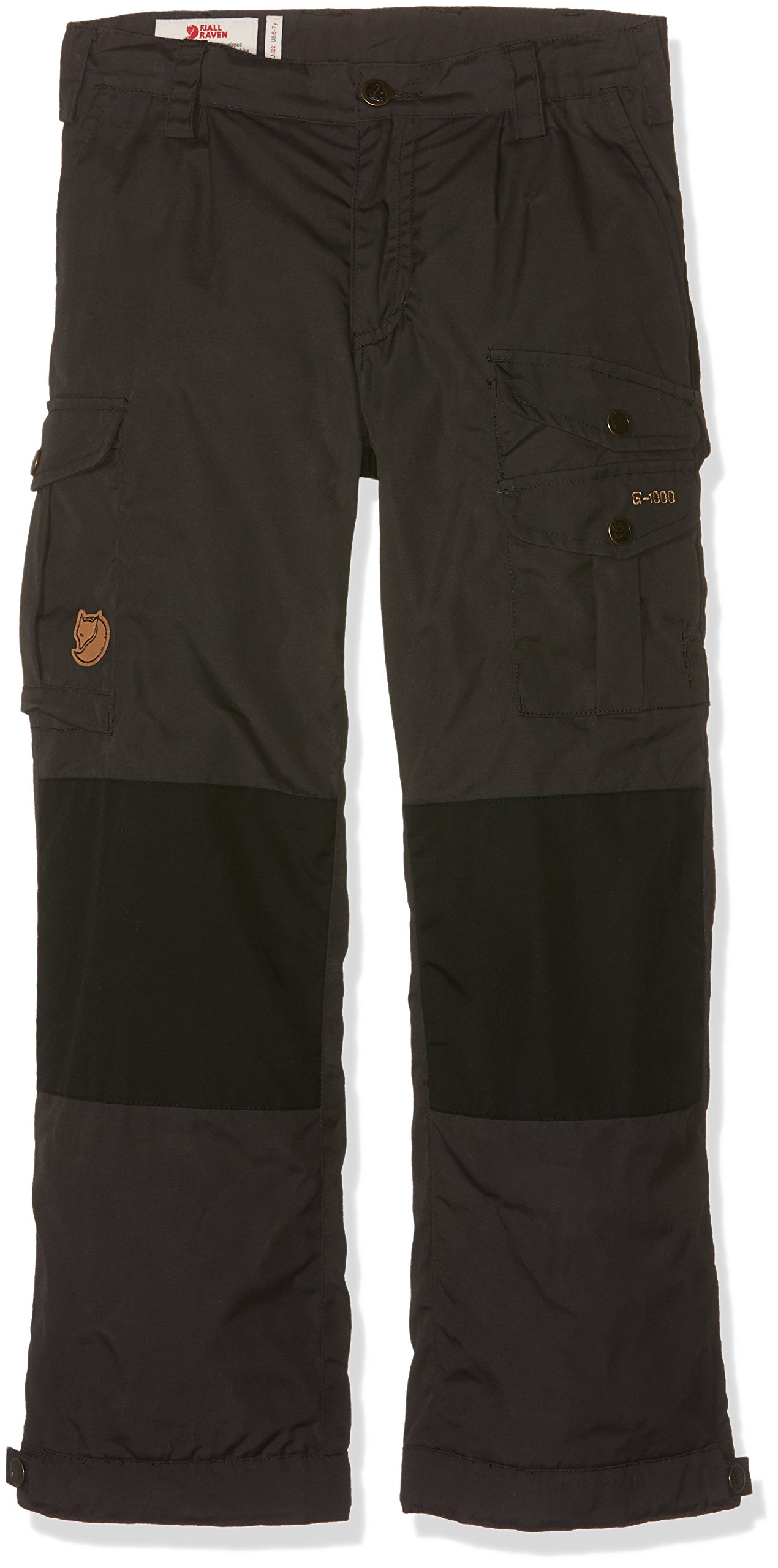 Fjallraven F80594 Boys Vidda Padded Trousers Casual Pant, Dark Grey-122 by Fjallraven