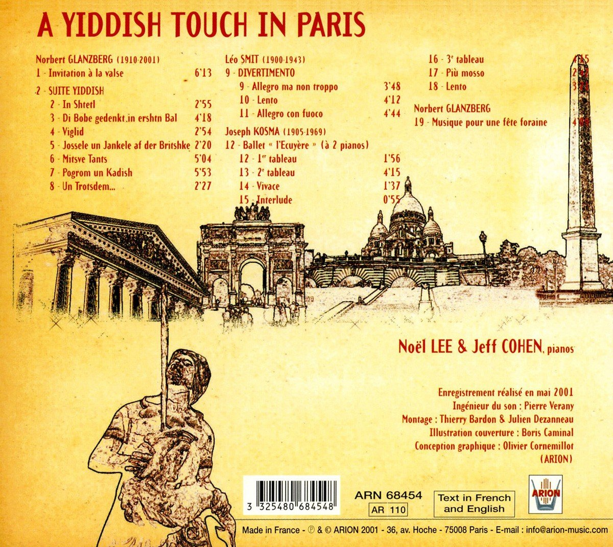 A Yiddish Touch in Paris by Arion