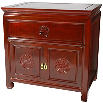 oriental furniture rosewood bedside cabinet cherry - Rosewood Kitchen Cabinets