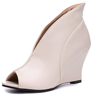Beiges Chaussures Xurqusxf Odema Femme Sexy 56HZWB1q6