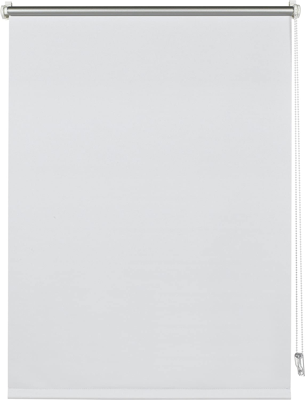 Deco Company Gardinia 23-1038-Estor térmico, plástico, Blanco, 150x 100x 5cm