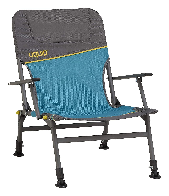 Uquip Camp Chair Lofty 260 lbs skanfriends Heavy Duty Height Adjustable Fishing Arm Chair