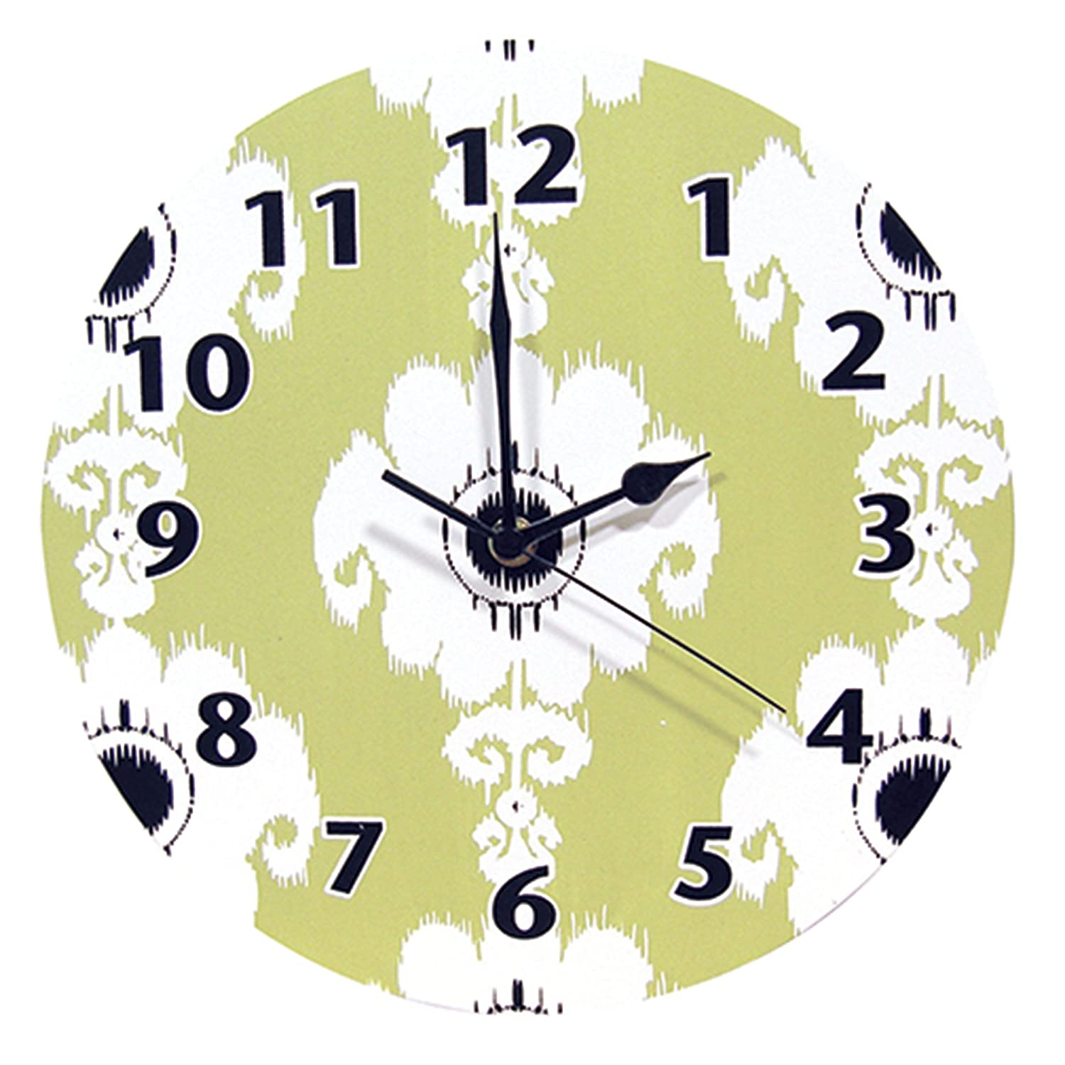 Trend Lab Waverly Rise and Shine Wall Clock, Green 71163