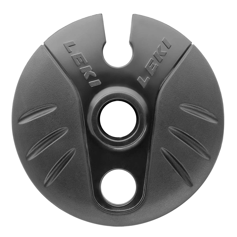 Leki Cobra Powder Teller 80mm - schwarz
