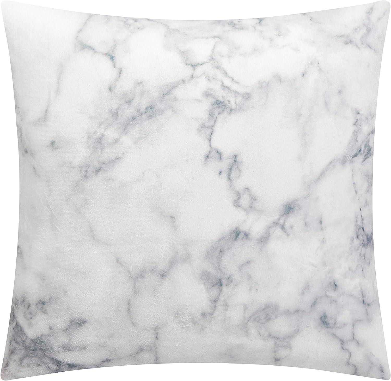 Pop Shop Marble Mink Dec Pillow, White