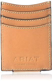 Amazon.com: Mens bolsillo frontal cartera con dinero clip ...