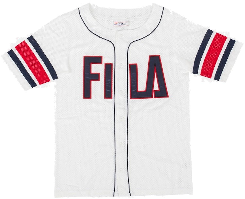 Fila Kyler Jersey Baseball, T Shirts à Manches Courtes pour Hommes