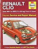 Renault Clio Petrol & Diesel (Jun 01 - 05) Haynes Repair Manual (Haynes Service and Repair Manuals)