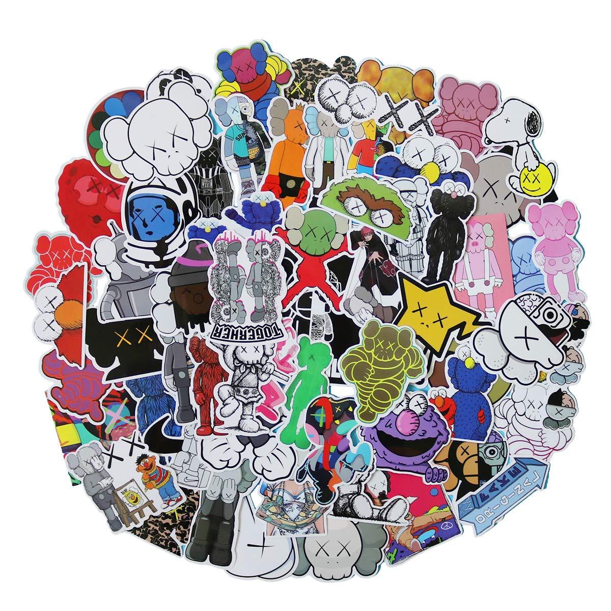 Stickers Calcos 65 un. Surtidos Origen U.S.A. (7SHV9PDY)