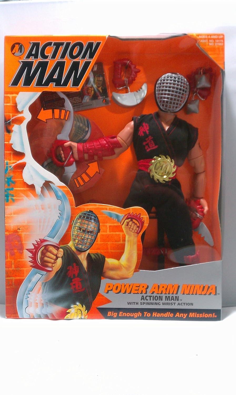 Amazon.com: G. I. Joe Action Man Power Arm Ninja 12