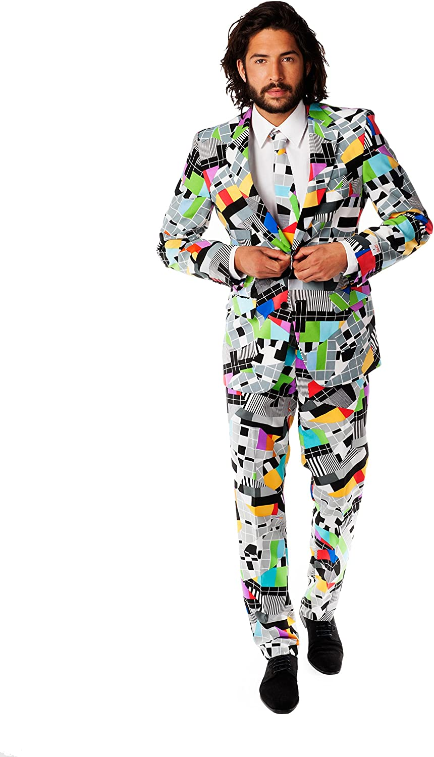 Men's Vintage Style Suits, Classic Suits Opposuits Mens Party Costume Suits $59.99 AT vintagedancer.com