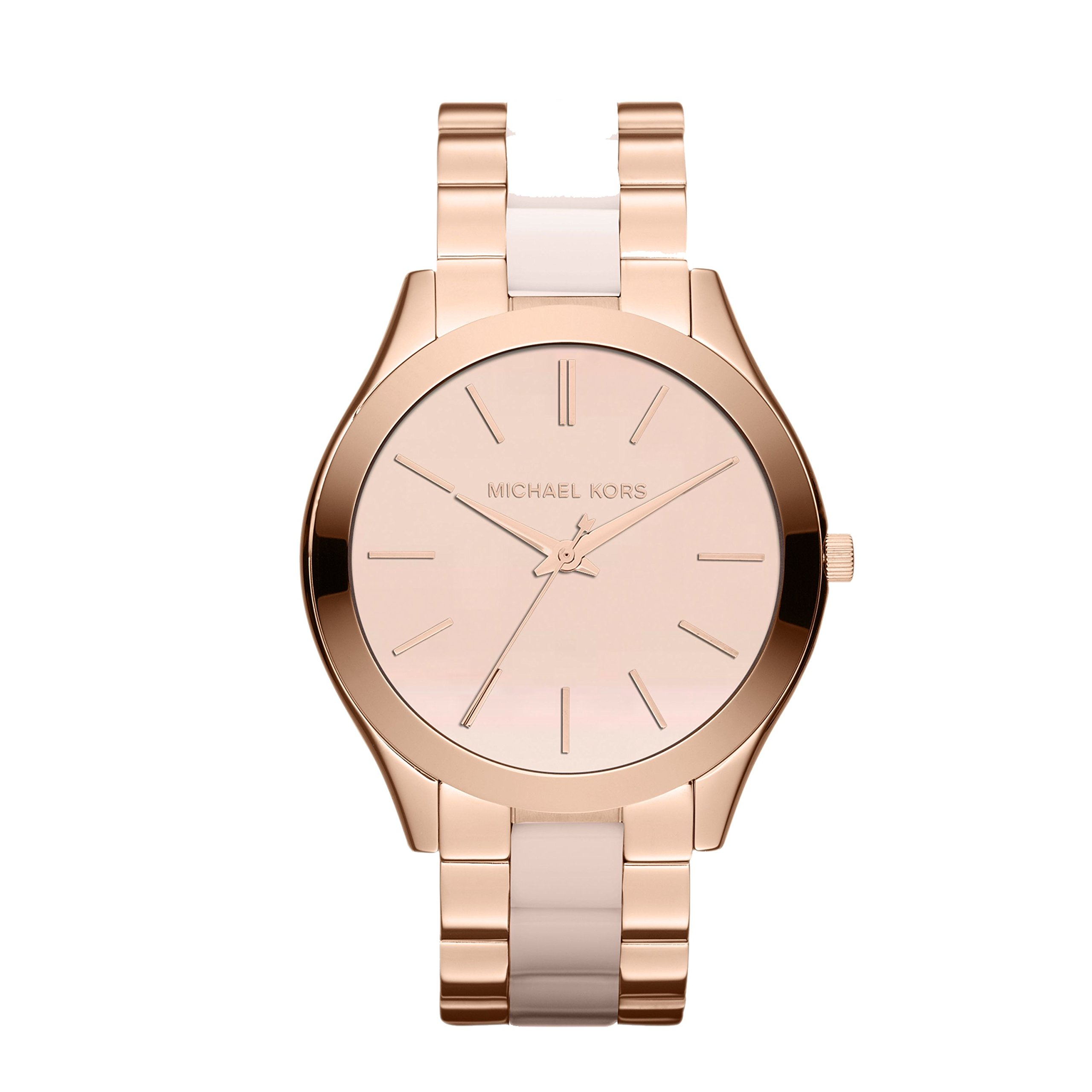 Michael Kors Women's Slim Runway Rose Gold-Tone Watch MK4294
