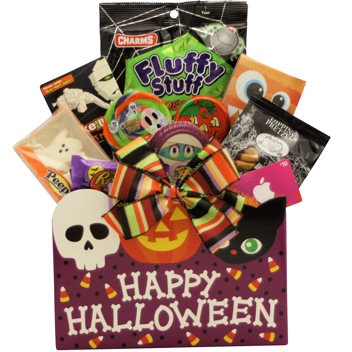 Halloween Gift Basket Ideas For Adults.Amazon Com Teen Treats Halloween Gift Baskets Grocery Gourmet