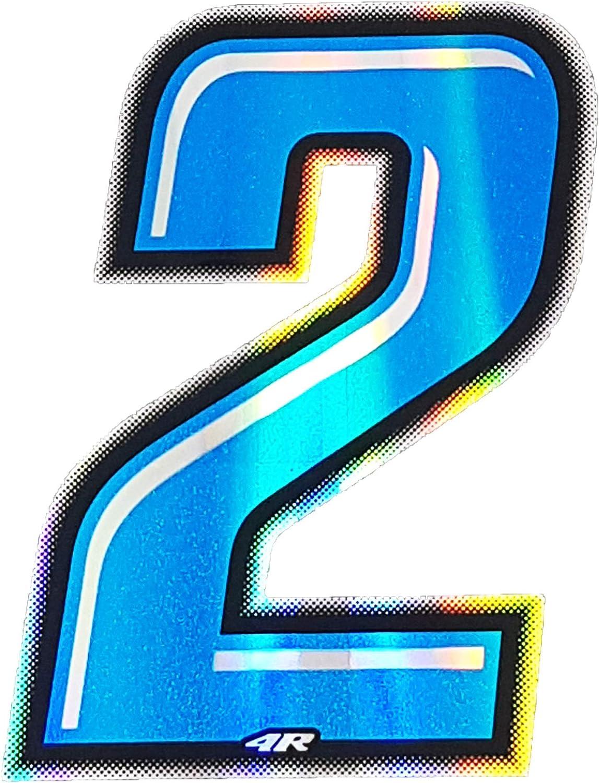 4R Quattroerre.it 13272 Numero Racing 2 Blu