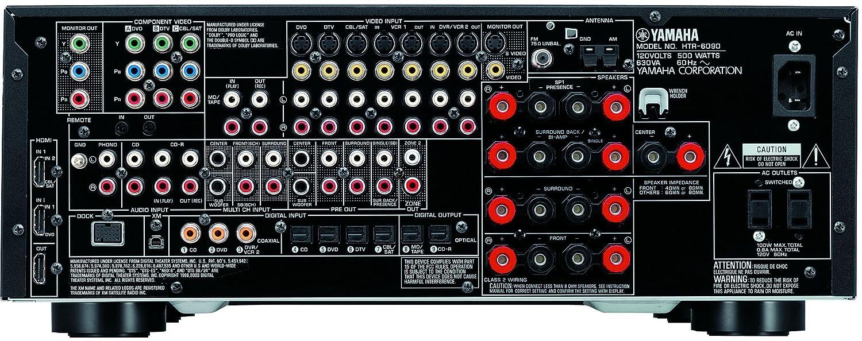 amazon com yamaha htr 6090bl 7 1 channel digital home theater rh amazon com Yamaha Receiver HTR-5990 Yamaha 7.1 Surround Sound System