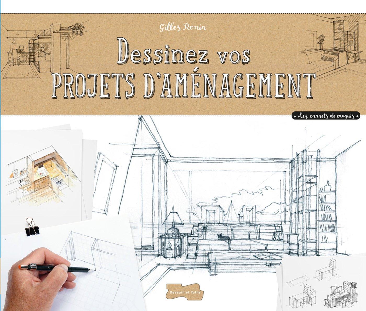 Dessiner des projets d'aménagement à main levée por Gilles Ronin