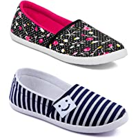 Asian Women Casual Shoes Combo Pack of 2-3012-W6